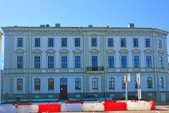 Styunkel& x27; s豪宅在维堡,俄罗斯 库存照片