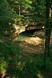 styx för grottaingångsflod Arkivfoto