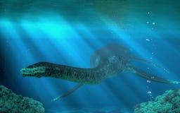 Styxosaurus иллюстрация вектора