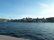 Suécia, Éstocolmo - a cidade velha de Gamla Stan fotos de stock royalty free