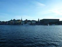 Suécia, Éstocolmo - a cidade velha de Gamla Stan foto de stock royalty free