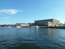 Suécia, Éstocolmo - Royal Palace fotos de stock royalty free