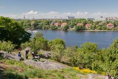 Suécia de Éstocolmo do parque de Skansen Imagens de Stock Royalty Free