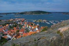 Suécia de Fjallbacka Fotografia de Stock