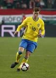 Suécia de Hungria v - 0-2 amigável internacional Fotografia de Stock
