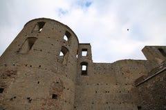 Suécia do castelo de Borgholm em Oland Imagem de Stock
