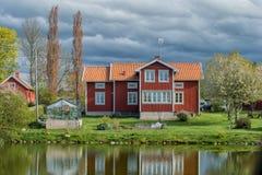 Suécia na primavera Fotografia de Stock Royalty Free