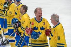 Suédois en avant de Jorgen Pettersson (29) Image stock