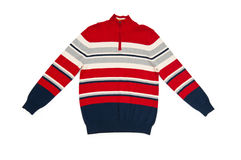 Suéter caliente aislado en el blanco Imagen de archivo