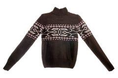 Suéter con el modelo Imagen de archivo