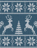 Suéter con los ciervos Foto de archivo
