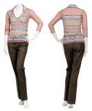 Suéter femenino en maniquí foto de archivo libre de regalías