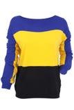 Suéter multicolor Foto de archivo
