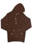 Suéter para adolescente en un blanco. Fotos de archivo