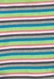 Suéter rayado hecho punto textura Foto de archivo