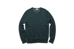 Suéter verde oscuro Foto de archivo libre de regalías