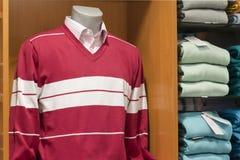Suéter y camisa Imágenes de archivo libres de regalías