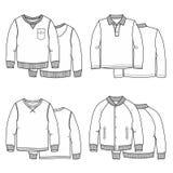 Suéteres blancos libre illustration