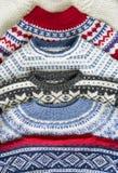 Suéteres de Kitted Imagen de archivo