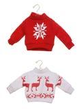 Suéteres de la Navidad Imagen de archivo