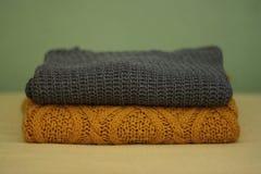 Suéteres del invierno Foto de archivo libre de regalías
