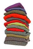 Suéteres del knit y de la cachemira del cable de los hombres Imagen de archivo libre de regalías