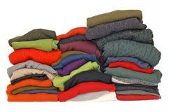 Suéteres del knit y de la cachemira del cable de los hombres Fotos de archivo