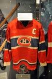 Suéteres del salón de la fama del hockey imagen de archivo libre de regalías