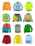 Suéteres para los muchachos Imagen de archivo