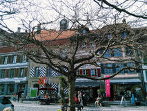 Suíça - Aarberg foto de stock royalty free