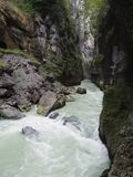 Suíça do desfiladeiro de Aare Foto de Stock Royalty Free