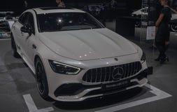 Suíça; Genebra; 8 de março de 2018; Mercedes-AMG GT 53; O 88th Foto de Stock