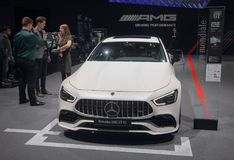 Suíça; Genebra; 8 de março de 2018; Mercedes-Benz AMG GT 53;  Fotos de Stock