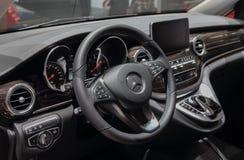 Suíça; Genebra; 8 de março de 2018; Mercedes-Benz Marco Polo HOR Foto de Stock Royalty Free