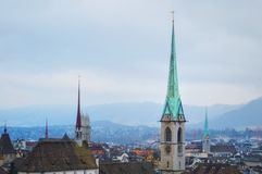 Suíça Lausana Imagem de Stock Royalty Free