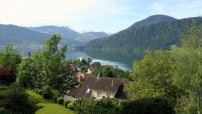 Suíça - Oberägerenciei Foto de Stock