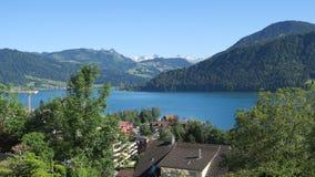 Suíça - Oberägerenciei fotografia de stock