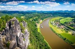 Suíça saxão Foto de Stock