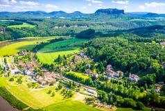 Suíça saxão Imagens de Stock