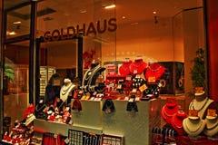 Suíça velho da cidade de Zurique da loja de joia Imagens de Stock Royalty Free