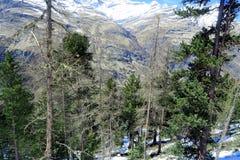 Suíça - Wallis foto de stock royalty free