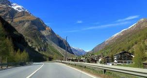 Suíça - Wallis imagem de stock