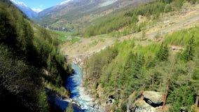 Suíça - Wallis Foto de Stock