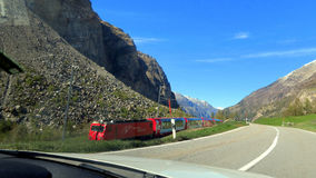 Suíça - Wallis Imagens de Stock Royalty Free