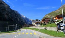 Suíça - Wallis Fotografia de Stock