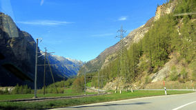 Suíça - Wallis Imagens de Stock