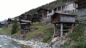 Suíça - Wallis Fotos de Stock Royalty Free