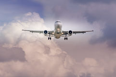 Suíço Airbus A-320 no aeroporto LJMB de Maribor Foto de Stock