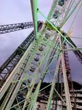 2017 suíços de Montreux do 23 de novembro - Ferris Wheel no mercado do Natal em Montreux, Suíça Fotos de Stock Royalty Free