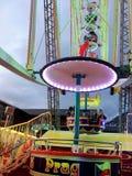 2017 suíços de Montreux do 23 de novembro - Ferris Wheel no mercado do Natal em Montreux, Suíça Foto de Stock